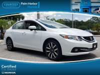 Certified 2014 Honda Civic EX-L Sedan in Jacksonville FL