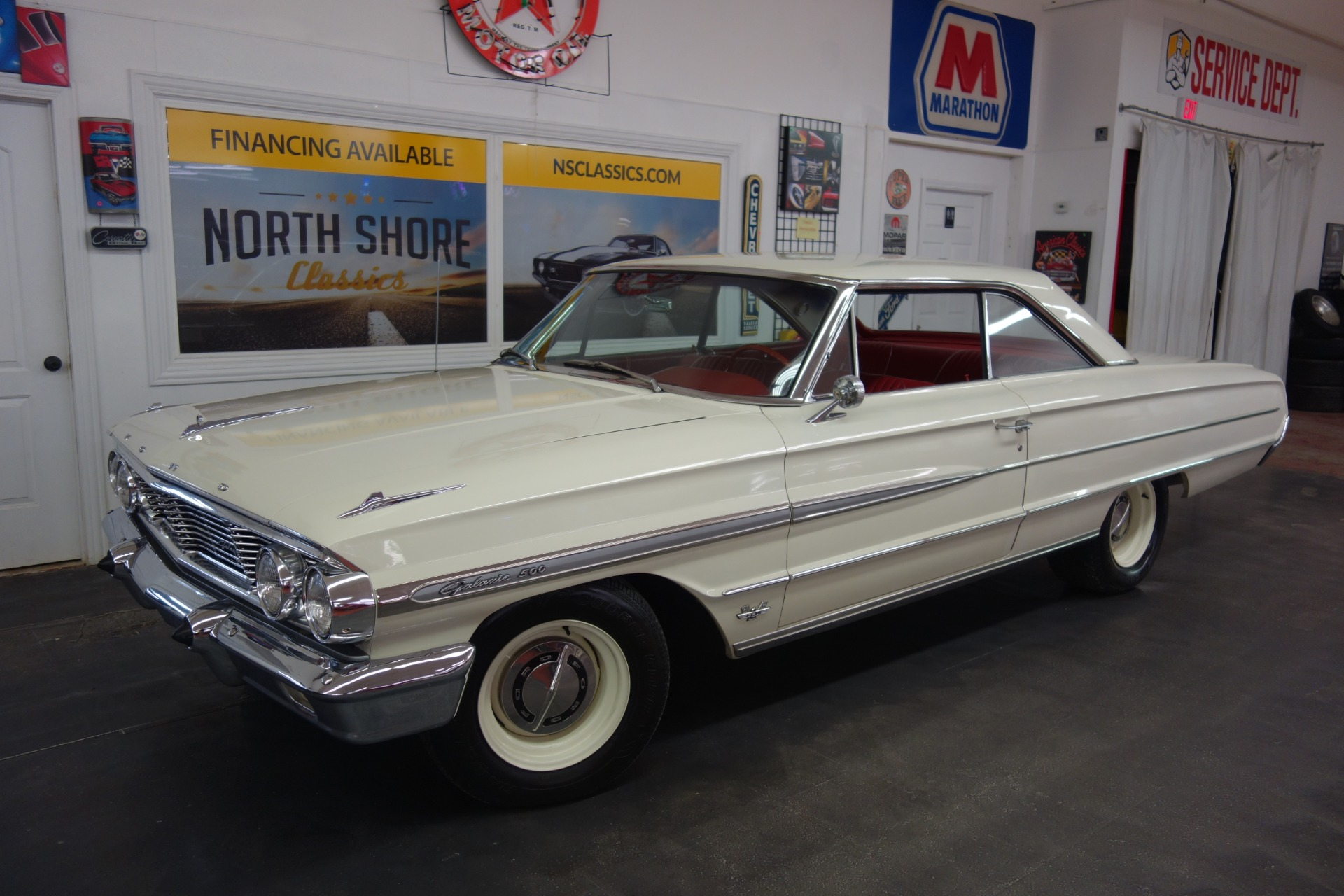 Photo 1964 Ford Galaxie 500 -390 4 SPEED-GREATLY ORIGINAL-