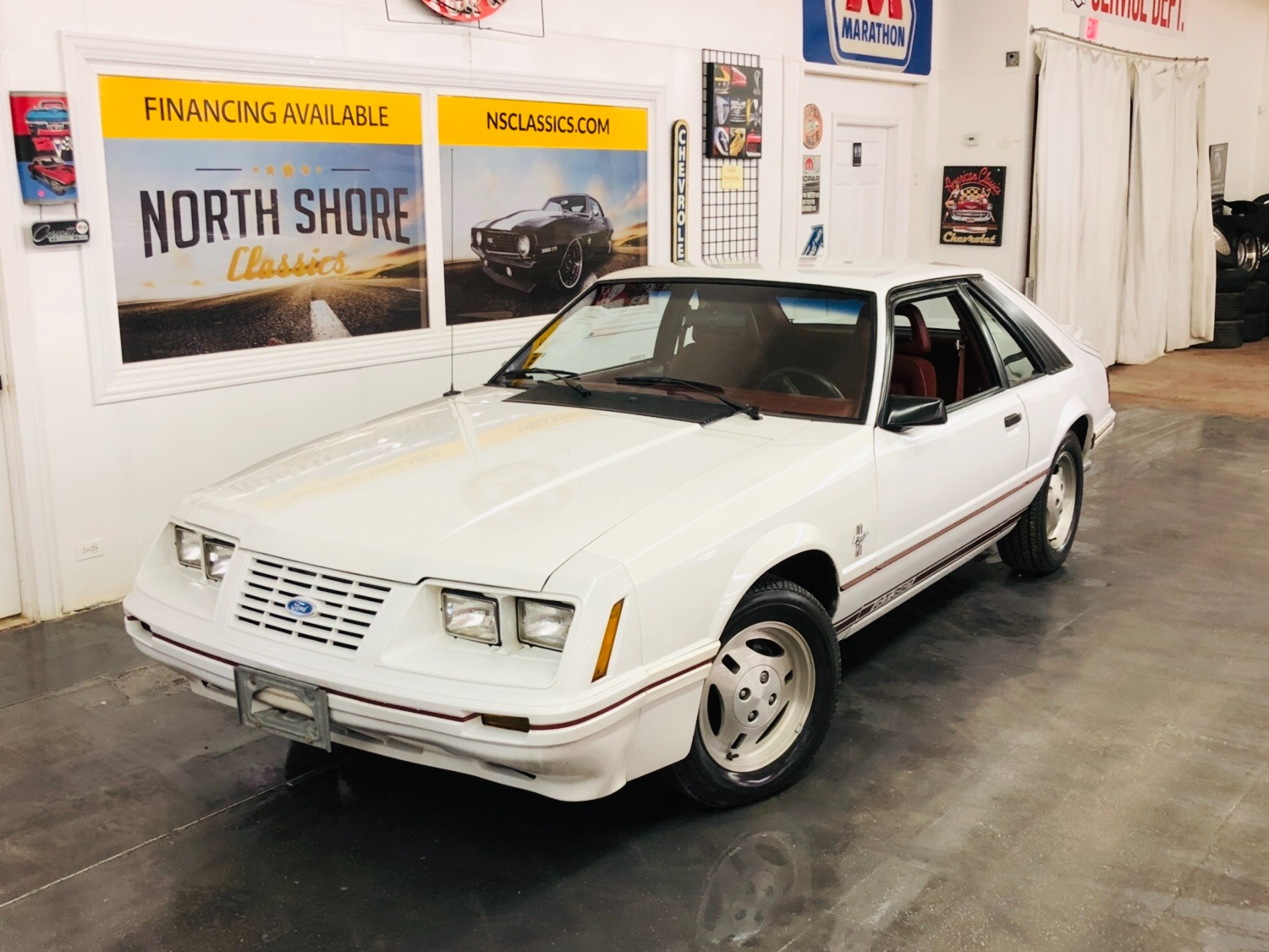 Photo 1984 Ford Mustang -20th Anniversary Edition-Low Miles-Rare-Clean Auto Check Report-SEE VIDEO-