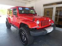 Pre-Owned 2014 Jeep Wrangler Unlimited Sahara 4x4 SUV
