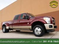 2012 Ford F-350 SD KING RANCH CREW CAB LONG BED 4WD NAV CAM ROOF