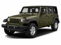 2016 Jeep Wrangler JK Unlimited Sahara 4x4 SUV in Columbus, GA