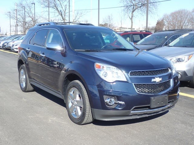 Photo Pre-Owned 2015 Chevrolet Equinox LTZ in Mount Prospect, IL, Near Palatine