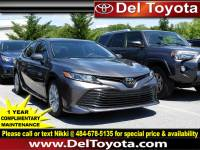 Certified Pre-Owned 2018 Toyota Camry For Sale in Thorndale, PA   Near Malvern, Coatesville, West Chester & Downingtown, PA   VIN:4T1B11HK6JU034404