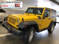 Pre-Owned 2009 Jeep Wrangler X SUV in Oakland, CA