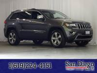 Certified 2014 Jeep Grand Cherokee Limited 4x4 SUV in San Diego