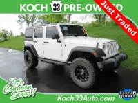 Pre-Owned 2016 Jeep Wrangler Unlimited Sport 4D Sport Utility 4WD