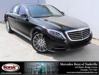 2016 Mercedes-Benz S-Class S 550 4dr Sdn RWD in Franklin