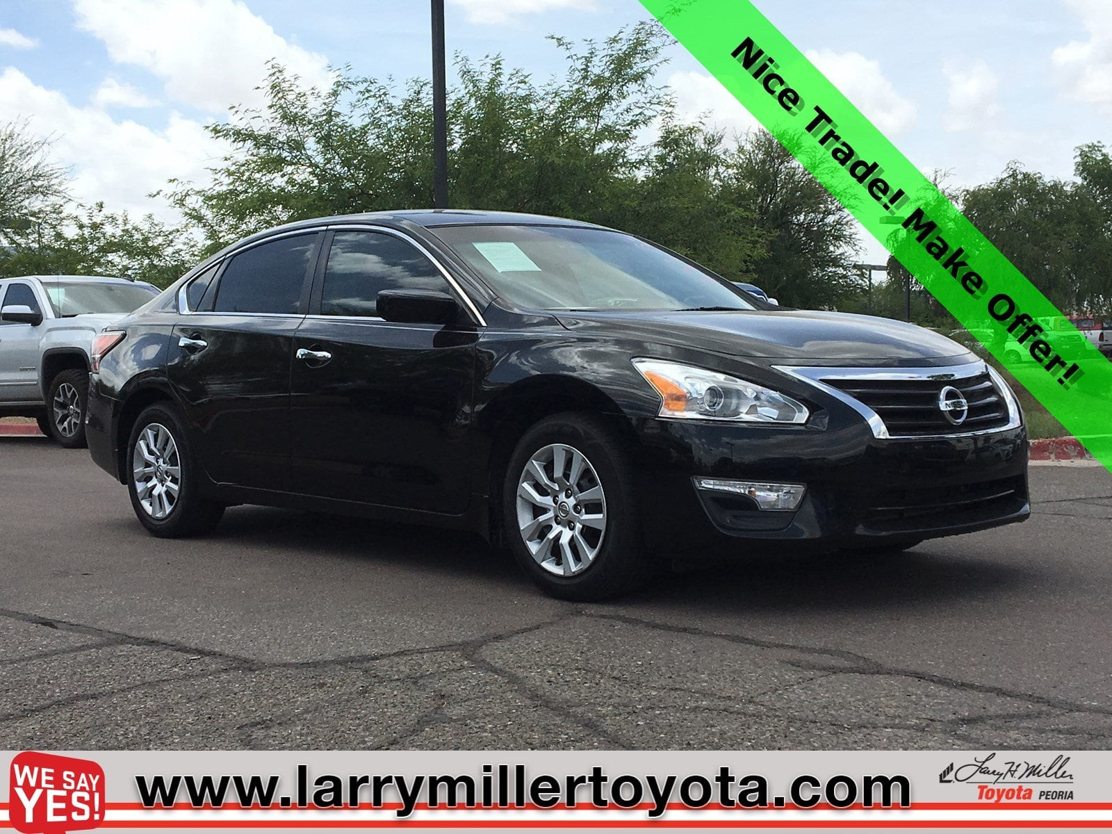 Photo Used 2015 Nissan Altima For Sale  Peoria AZ  Call 602-910-4763 on Stock 91673A