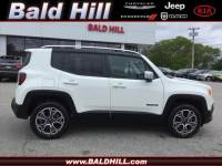 2018 Jeep Renegade Limited 4x4 SUV For Sale in Warwick, RI