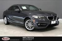 Certified Used 2016 BMW 228i w/SULEV Coupe near Los Angeles