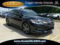 Certified 2017 Honda Accord Sport Sedan in Orlando FL