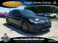Certified 2016 Honda Accord Sport Sedan in Orlando FL