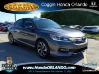 Certified 2016 Honda Accord EX-L Sedan in Orlando FL