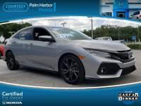 Certified 2017 Honda Civic Sport Touring Hatchback in Tampa FL