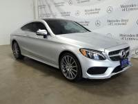 Pre-Owned 2017 Mercedes-Benz C 300 Coupe 4MATIC®