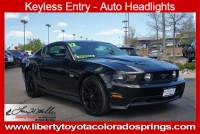 Used 2012 Ford Mustang GT Coupe For Sale in Colorado Springs, CO