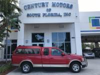 2000 Ford F-150 Lariat Leather Chrome Wheel Camper Top Tow