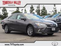2016 Toyota Camry XLE Sedan Front-wheel Drive