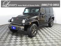 Pre-Owned 2016 Jeep Wrangler JK Unlimited Sahara 4x4 SUV for Sale in Sioux Falls near Brookings