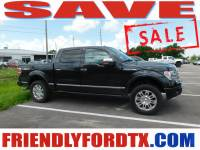 Used 2013 Ford F-150 Platinum Truck V8 FFV for Sale in Crosby near Houston