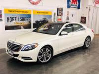 2015 Mercedes Benz S-Class -BELOW BLUEBOOK RETAIL-S 550 4MATIC ALL WHEEL DRIVE TWIN TURBO-