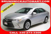 Certified Used 2017 Toyota Camry LE in Brunswick, OH, near Cleveland