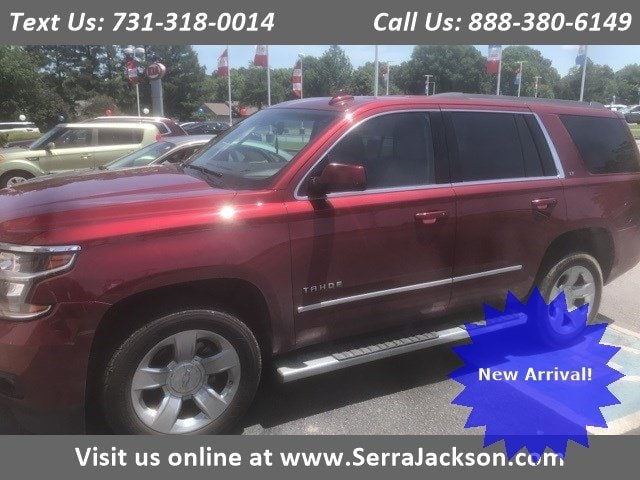 Photo Certified Pre-Owned 2016 Chevrolet Tahoe LT in Jackson, TN