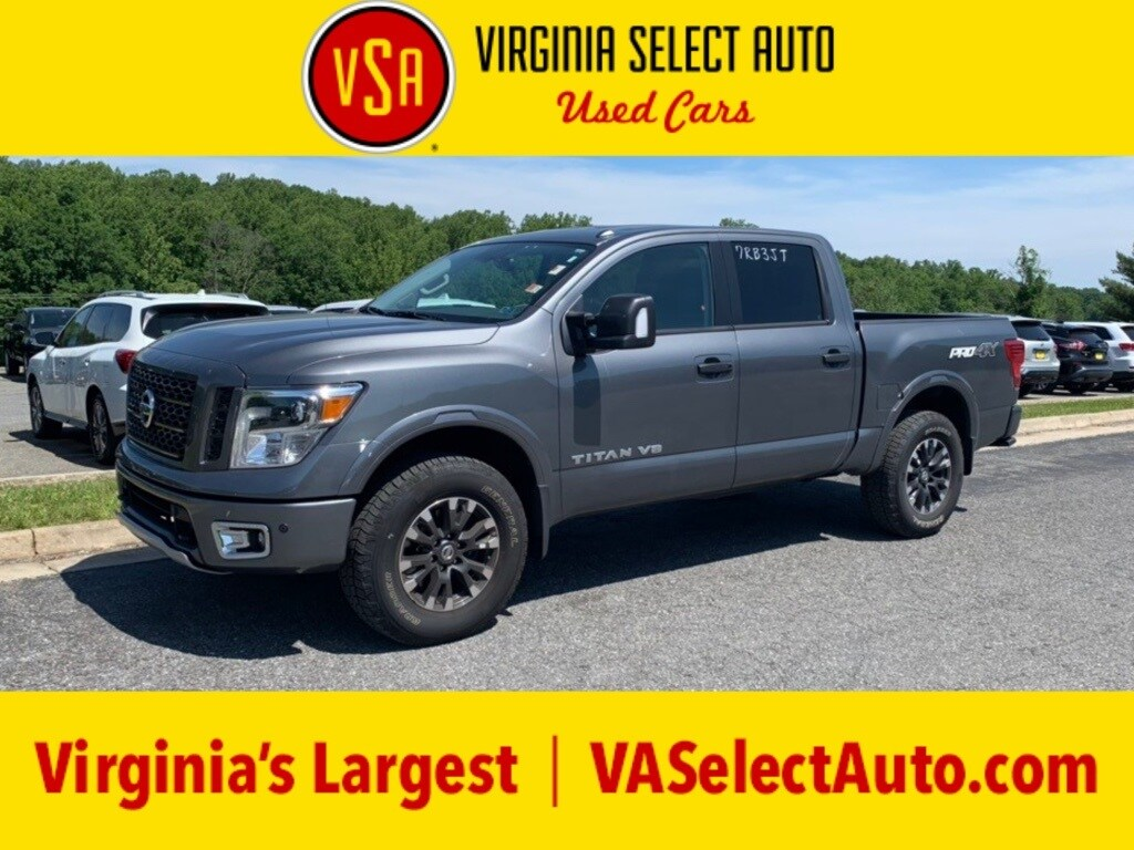 Photo Used 2019 Nissan Titan PRO Truck for sale in Amherst, VA