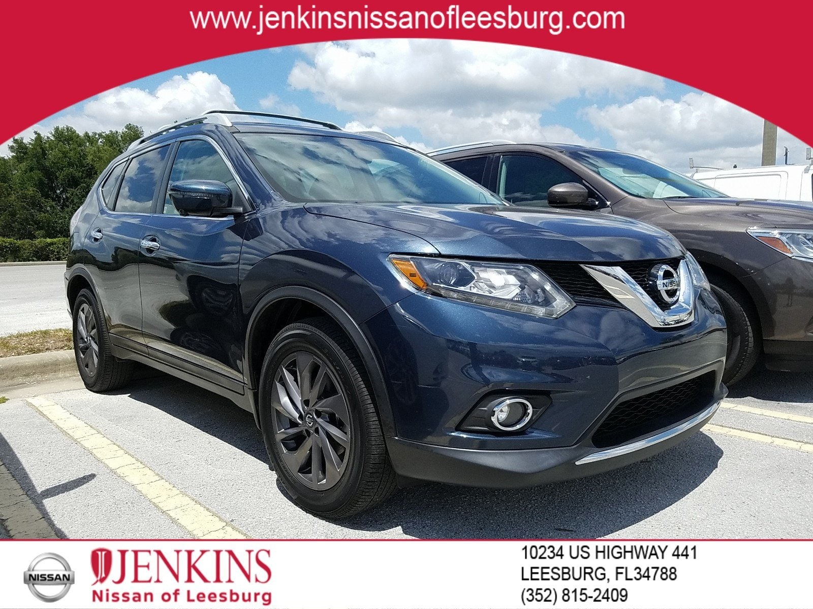 Photo Certified Pre-Owned 2016 Nissan Rogue SL SUV For Sale Leesburg, FL