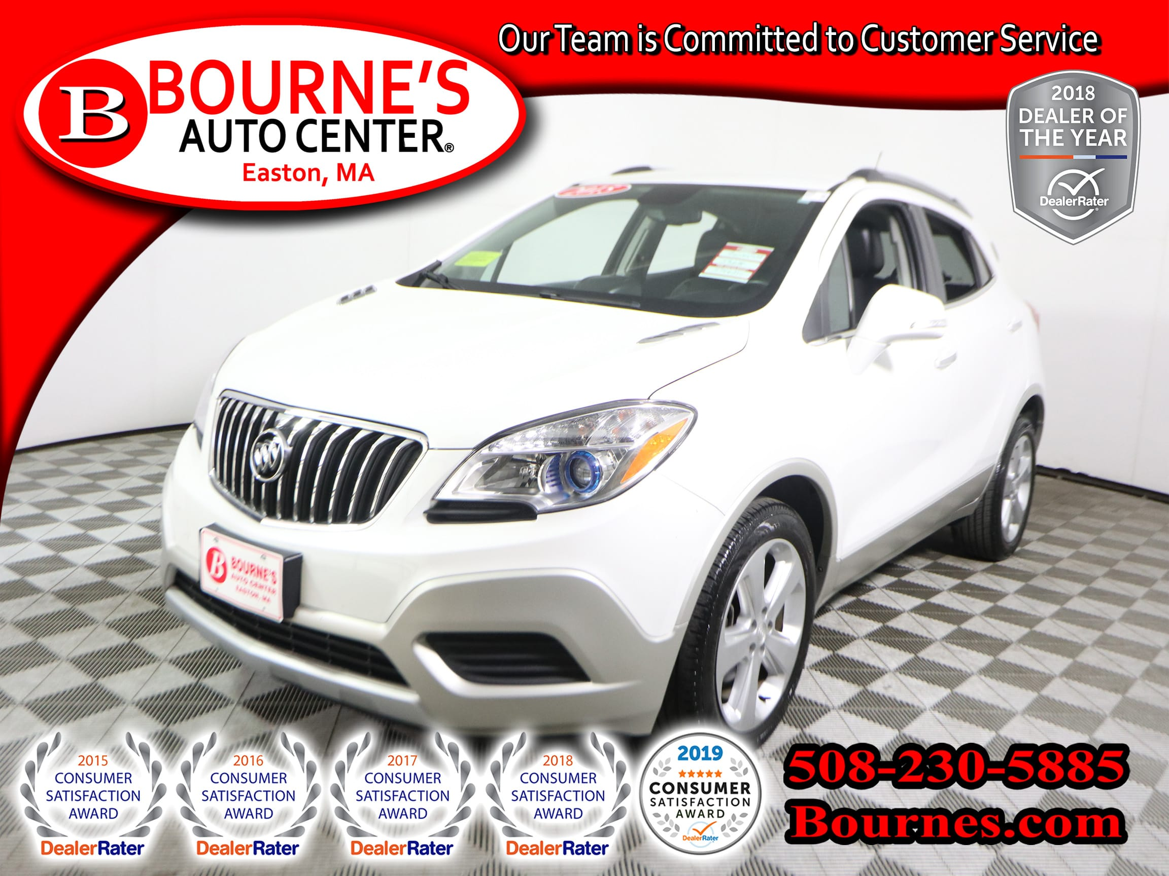 Photo 2015 Buick Encore w Leather And Backup Camera.