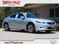 2008 Honda Accord 2.4 EX-L Coupe Front-wheel Drive in Temecula