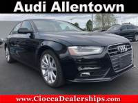 Used 2013 Audi A4 2.0T Premium For Sale in Allentown, PA