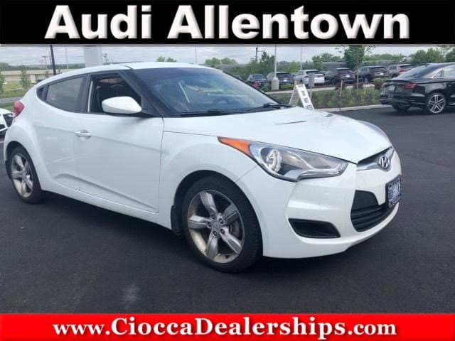 Photo Used 2013 Hyundai Veloster Base wGray For Sale in Allentown, PA