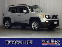 Certified 2015 Jeep Renegade Latitude FWD SUV in San Diego