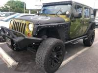 Used 2010 Jeep Wrangler Unlimited Sport SUV in Miami