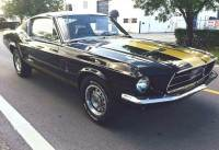 1967 Ford Mustang -FASTBACK BLACK & GOLD REAL A CODE 289 AUTO