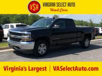 Used 2019 Chevrolet Silverado 1500 LD LT Double Cab 4x4 Truck for sale in Amherst, VA