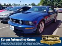 Used 2007 Ford Mustang GT Premium Convertible V8 OHC 24V for Sale in Puyallup near Tacoma
