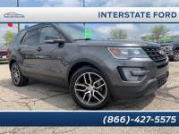 Used 2016 Ford Explorer Sport SUV EcoBoost V6 GTDi DOHC 24V Twin Turbocharged in Miamisburg, OH