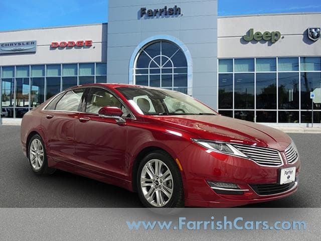 Photo Used 2015 LINCOLN MKZ Sdn Hybrid FWD for sale in Fairfax, VA