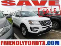 Used 2017 Ford Explorer XLT SUV 6-Cylinder SMPI DOHC for Sale in Crosby near Houston