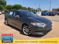 Certified 2017 Ford Fusion SE Sedan I-4 cyl in Richmond, VA