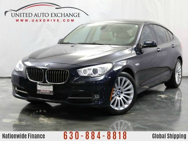 Photo 2010 BMW 5 Series Gran Turismo 3.0L V6 Twin Turbo Engine RWD 535i w Panoramic Sunroof, Front and Rear Parking Aid with Rear View Camera, Navigation, Bluetooth Connectivity, USB  AUX Input