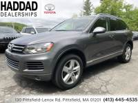 Used 2012 Volkswagen Touareg TDI in Pittsfield MA