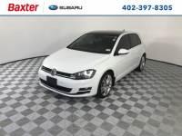 2015 Volkswagen Golf TDI SEL 4-Door