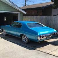 1972 Chevrolet Chevelle -1 OWNER-CLASSIC MUSCLE-SMALL BLOCK-AUTOMATIC-SEE VIDEO