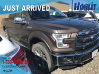 2015 Ford F-150 Lariat FX4 Crew Cab 4x4 EcoBoost w/ Panoramic Moon Roof