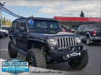 Certified Pre-Owned 2017 Jeep Wrangler Unlimited Sahara 4x4 Sport Utility in Grants Pass