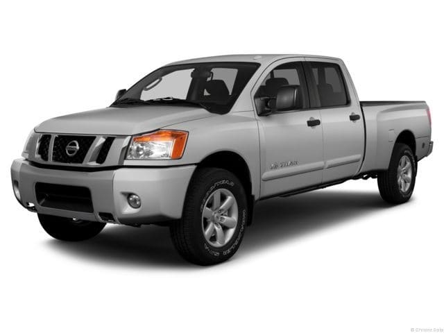 Photo Pre-Owned 2013 Nissan Titan SV Truck Crew Cab in Jackson MS